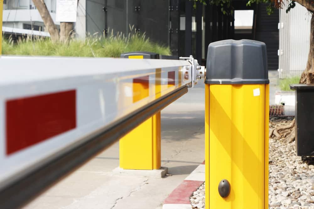 imagen de una barrera de control