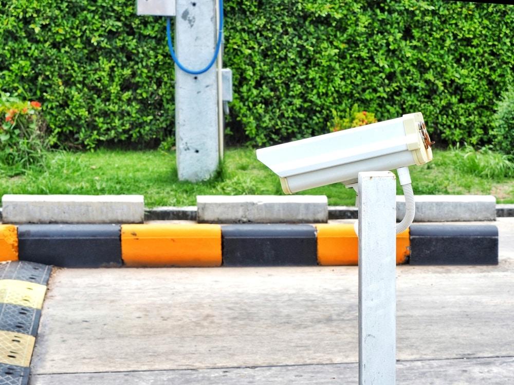 imagen sistema de seguridad en una urbanización