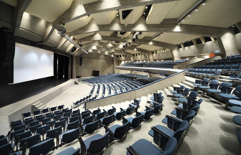 imagen de una sala de congresos