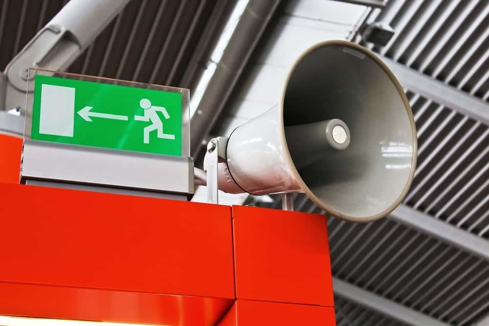 qué hacer en una evacuación de emergencia