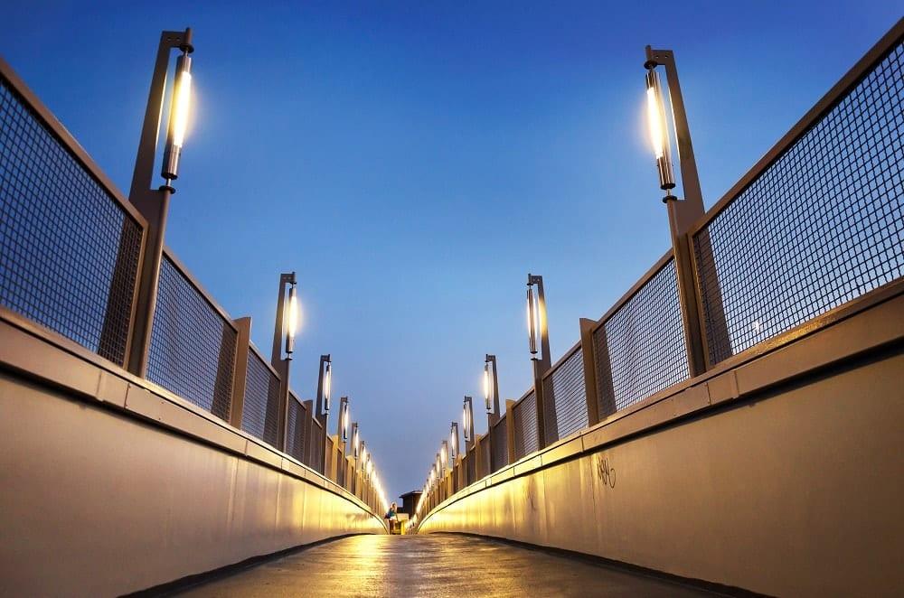 el uso de la iluminación disuasoria