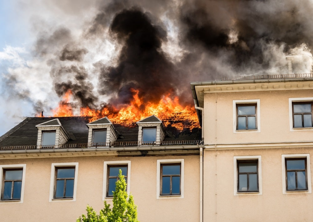simulacro de seguridad ante incendio